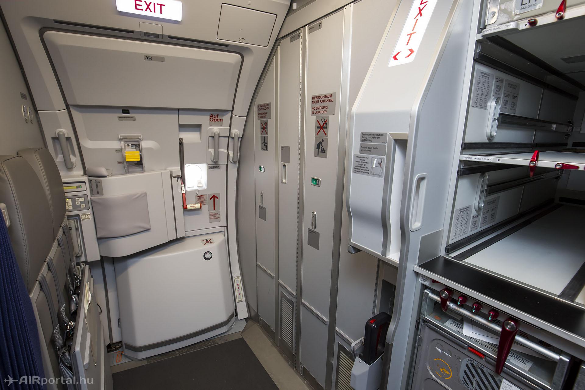 Hátrébb kerültek a WC-k. | © AIRportal.hu