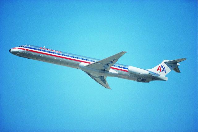 Az MD-80-asok szépen lassan kikopnak a flottából. (Fotó: American Airlines)   © AIRportal.hu