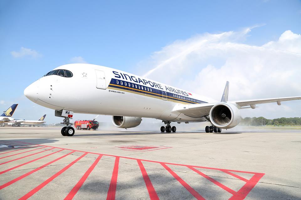 A Singapore Airlines csak március elején repülte haza az első A350-esét, de az Airbus rendszerében február 26-i dátummal rögzítették az átadást. (Fotó: Singapore Airlines)   © AIRportal.hu