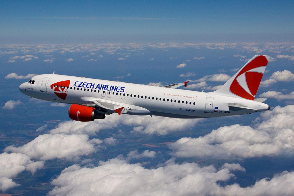 A CSA A320 (ceo) repülőgépe. (Fotó: Czech Airlines) | © AIRportal.hu