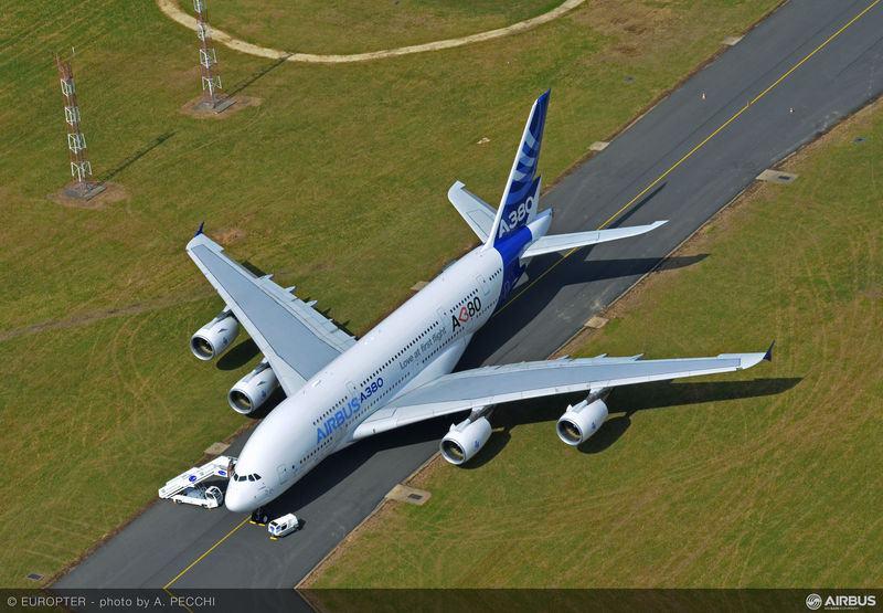 A két darab A380-as vevőjének nevét egyelőre homály fedi. (Fotó: Airbus) | © AIRportal.hu