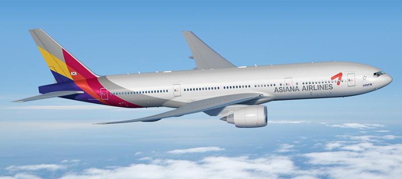 Egy Boeing 777-es az Asiana Airlines festésében. (Forrás: Boeing Company)   © AIRportal.hu