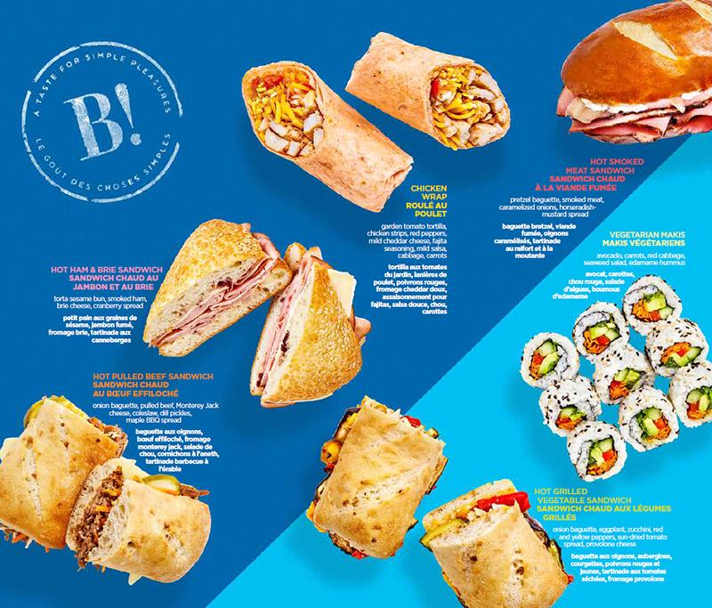 Biztosan fogják szeretni az utasok: gusztusos snack-ek közül válogathatnak. (Forrás: Air Transat)   © AIRportal.hu