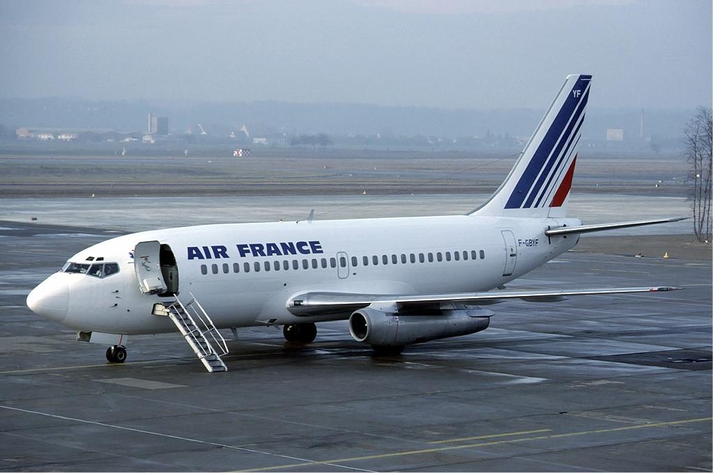 Egy Boeing 737-200-as az Air France színeiben. (Fotó: Wikimedia commons)   © AIRportal.hu