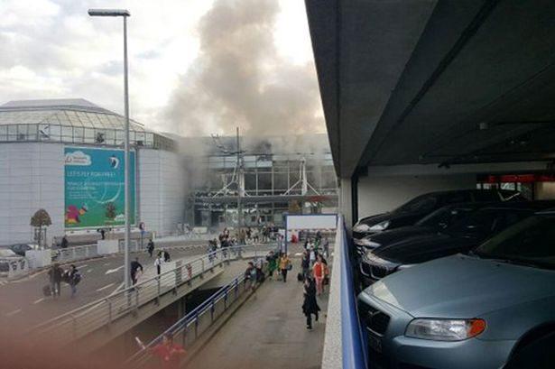 Közvetlen a március 22-i robbantások után készült fotó. | © AIRportal.hu