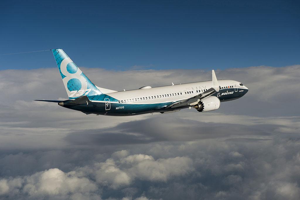 Fotó a 737 MAX 8 szűzrepüléséről. Forrás: Boeing Company) | © AIRportal.hu