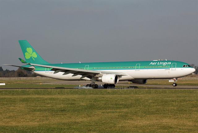 Jelenleg az A330-300-as az Aer Lingus legnagyobb gépe. (Fotó: AIRportal.hu) | © AIRportal.hu