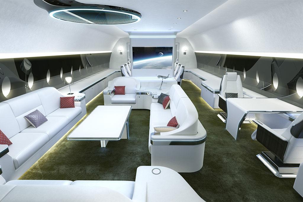 Ilyen is lehet az ACJ350 XWB fedélzete. (Forrás: Airbus) | © AIRportal.hu