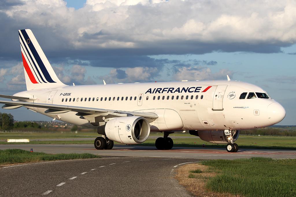 Az Air France egyik A319-es repülőgépe. (Fotó: AIRportal.hu) | © AIRportal.hu
