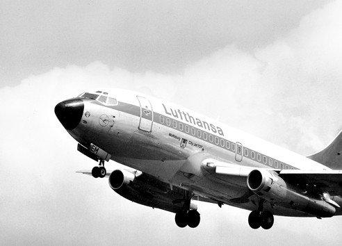A 737-es egyik őspéldánya a Lufthansa korabeli festésében. (Forrás: Lufthansa) | © AIRportal.hu