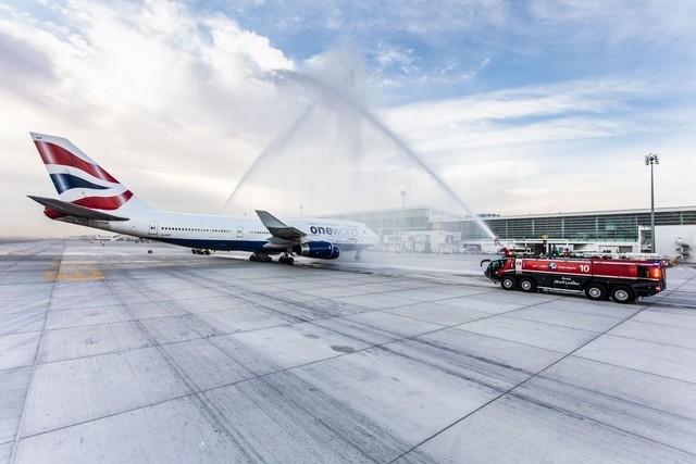 D Terminál első érkezője (Forrás: Dubai Airport) | © AIRportal.hu