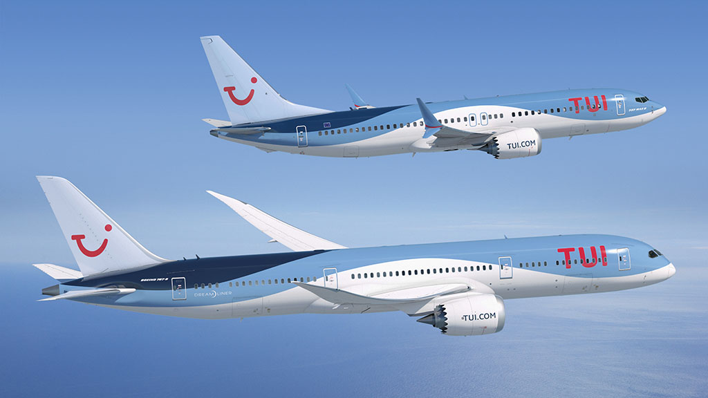 Dreamlinerekkel és MAX-ekkel bővít a TUI Group. (Forrás: Boeing)   © AIRportal.hu