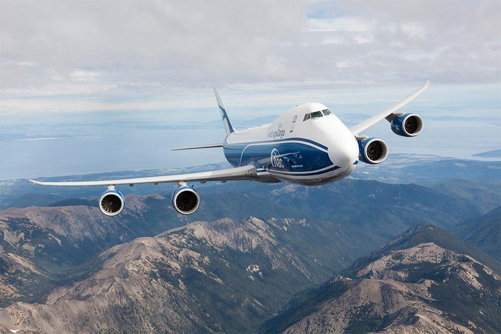 Boeing 747-8F az AirBridgeCargo színeiben. (Forrás: Boeing)   © AIRportal.hu