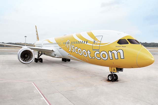Fotó: Scoot Airlines | © AIRportal.hu