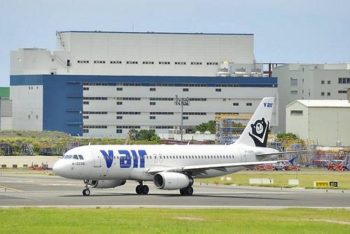 Az anyavállalat TransAsia anyagi helyzete miatt szűnik meg a V Air. (Fotó: V Air Facebook) | © AIRportal.hu