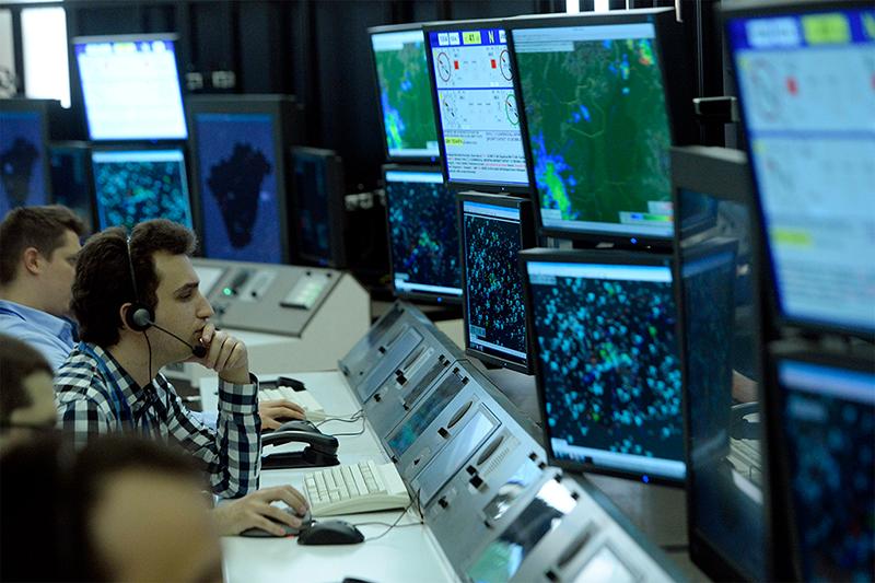 A HungaroControl világszínvonalú irányítóközpontja Budapesten. (Fotó: MTI - Kovács Tamás) | © AIRportal.hu