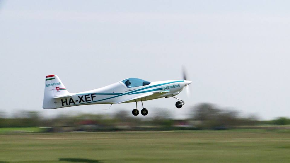 A Magnus elektromos kisgépe. Fotó: Magnus Aircraft | © AIRportal.hu