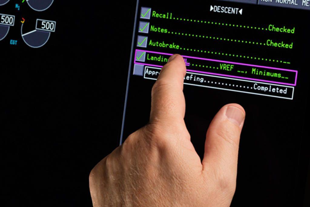 Érintőképernyőket a pilótafülkékbe!? (Forrás: Rockwell Collins) | © AIRportal.hu