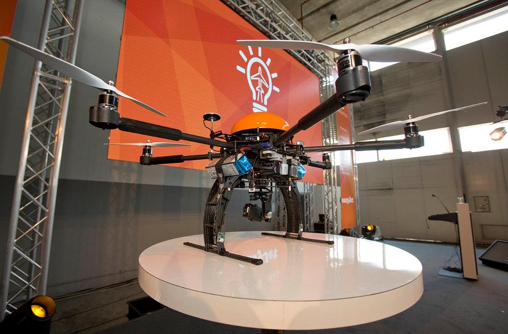 Az easyJet drónja 2014-ból. (Fotó: easyjet) | © AIRportal.hu