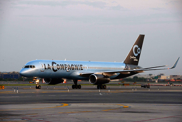 A La Compagnie Boeing 757-es repülőgépe. (Fotó: La Compagnie) | © AIRportal.hu