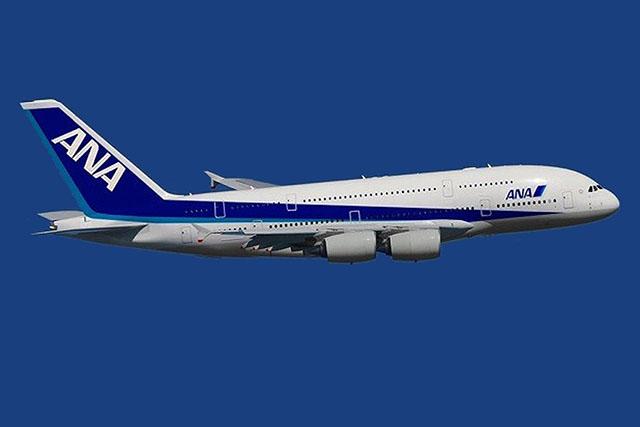 A380-as az ANA festésében - grafika. | © AIRportal.hu