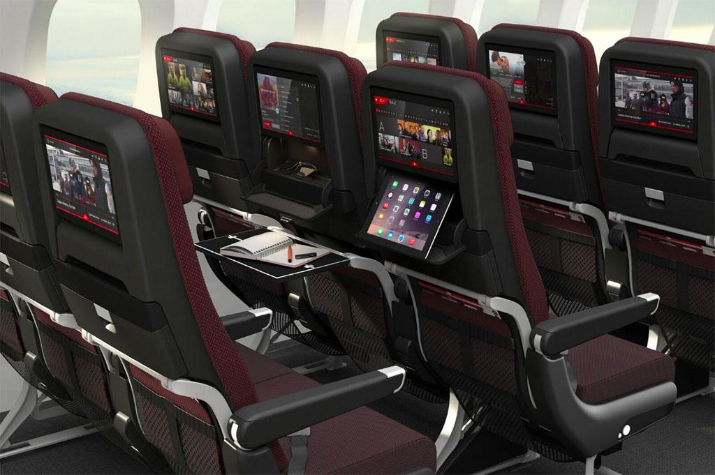 Ilyen üléseken utazhatnak Dreamlinereken a Qantas turista osztályú utasai. (Forrás: Qantas) | © AIRportal.hu
