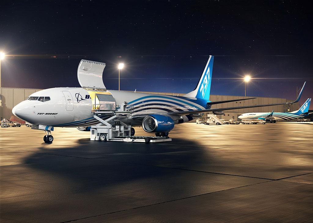 A Boeing idén év elején indította el 737-800NG konverziós programját. (Grafika: Boeing) | © AIRportal.hu