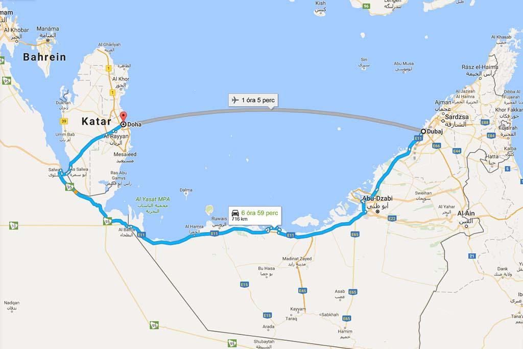 Forrás: Google Maps | © AIRportal.hu
