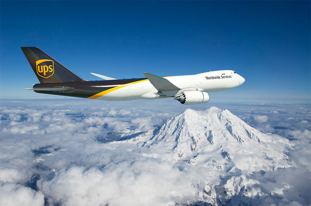 A rendelések között a legnagyobb szenzáció a UPS 747-es rendelése volt. (Grafika: Boeing Company) | © AIRportal.hu