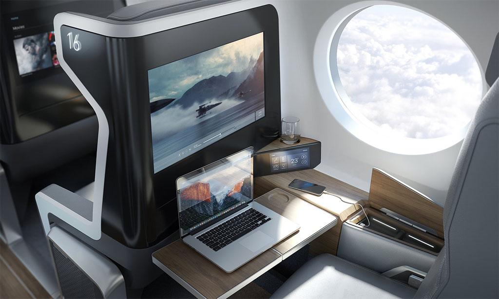 Kényelmes utazás Mach 2.2-vel. (Forrás: Boom Technology) | © AIRportal.hu