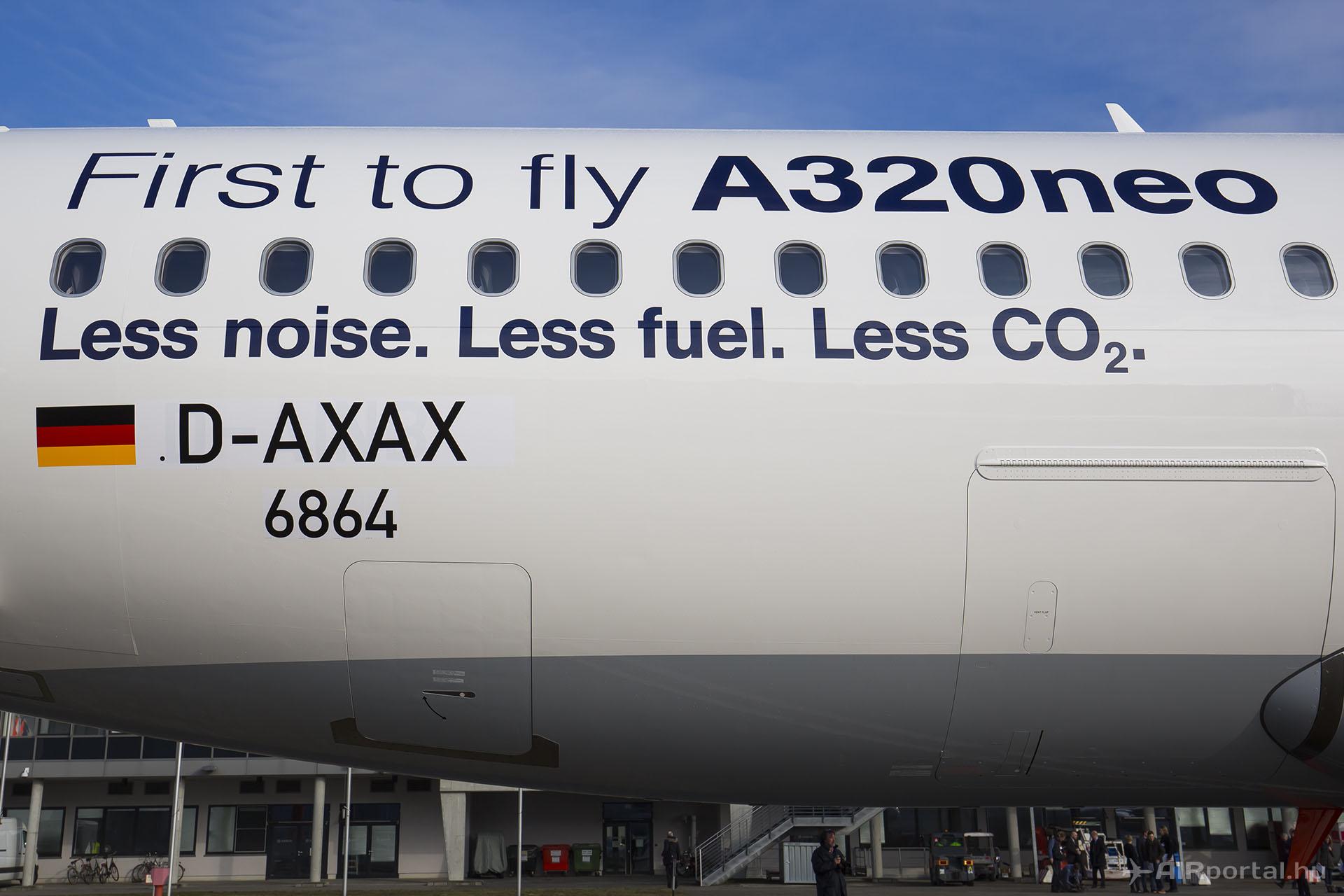 A Lufthansa az A320neo első üzemeltetője. (Fotó: AIRportal.hu) | © AIRportal.hu