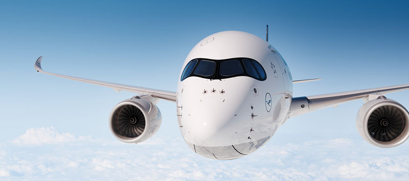 A Lufthansa 2016. december 19-én veszi át első A350XWB repülőgépét, az első kereskedelmi járatok 2017. februártól indulnak Delhibe és Bostonba. (Forrás: Lufthansa) | © AIRportal.hu