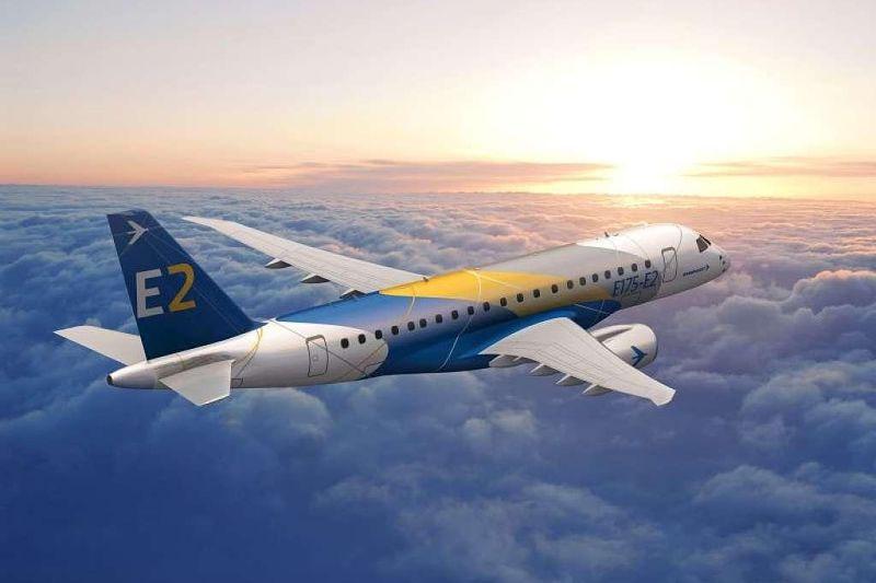 Látványterven a legkisebb új generációs E-Jet (Forrás: Embraer) | © AIRportal.hu