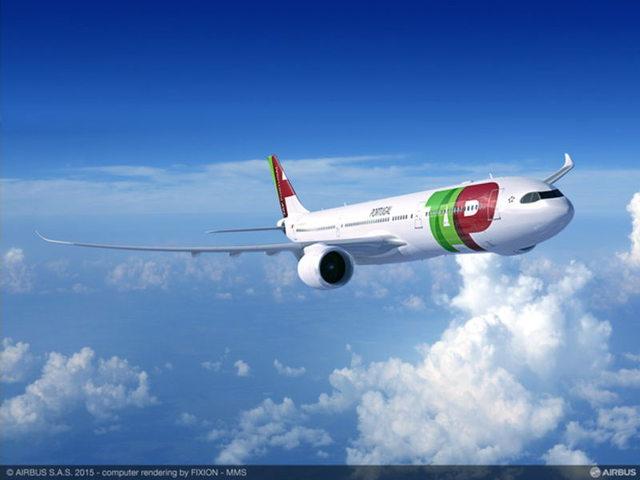 Grafika a portugál légitársaság leendő A330-900-asairól (Forrás: Airbus) | © AIRportal.hu