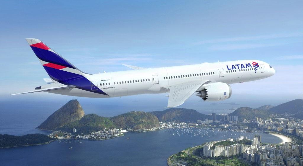 Boeing 787-es a LATAM festésében (Forrás: LATAM) | © AIRportal.hu