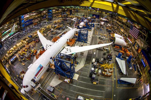 Jó ütemben készülnek a Boeing 787-esei (Fotó: Boeing) | © AIRportal.hu