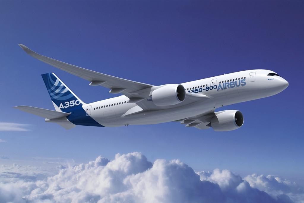 Látványterven az A350-800, amely minden bizonnyal soha nem épül meg (Forrás: Airbus) | © AIRportal.hu