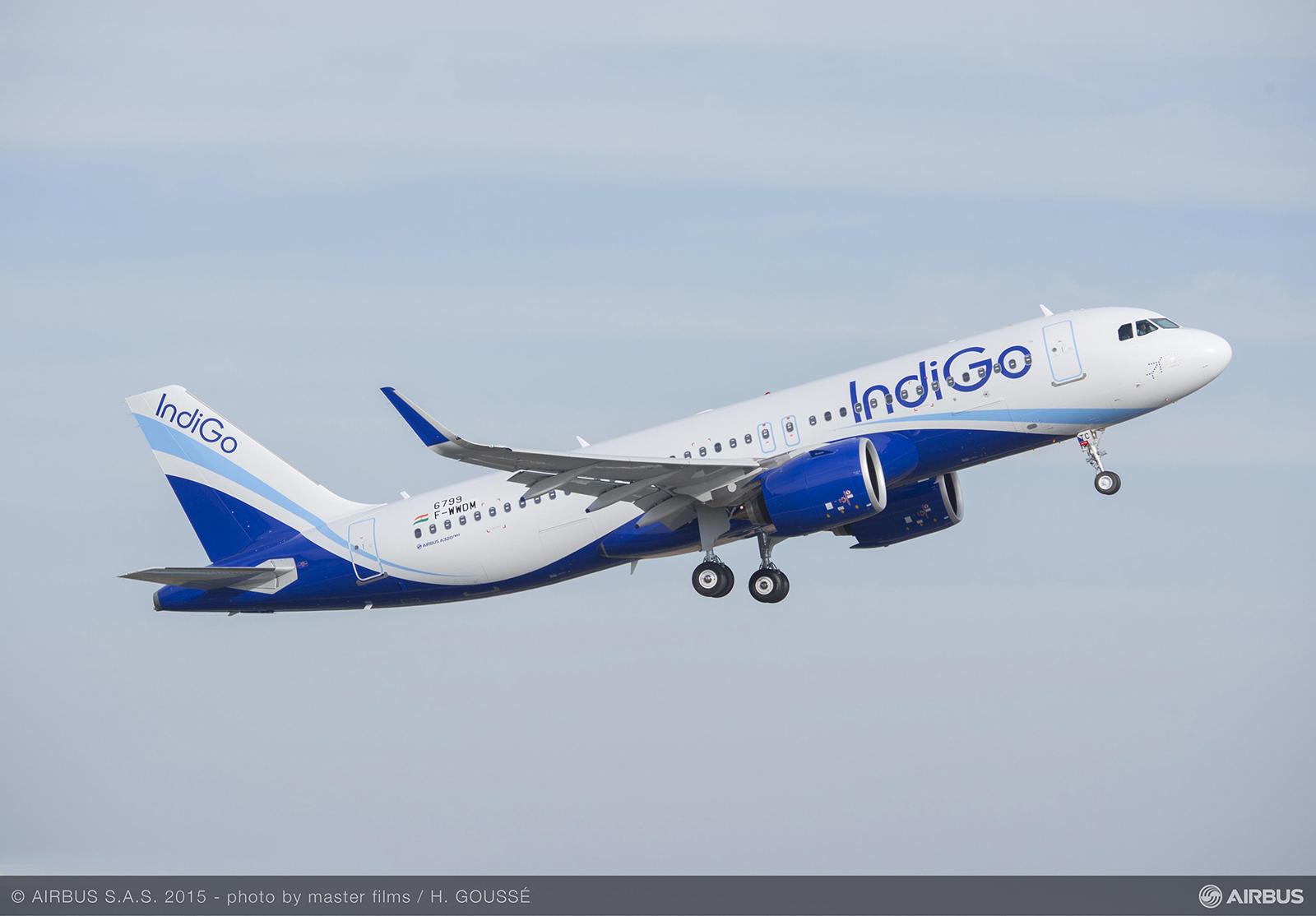 Az IndiGo első A320neo repülőgépe (Fotó: Airbus) | © AIRportal.hu