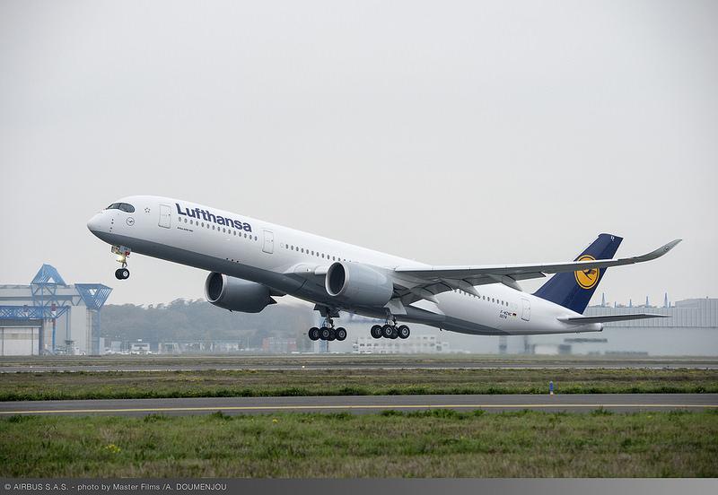 A Lufthansa első Airbus A350-900-asa (Fotó: Airbus) | © AIRportal.hu