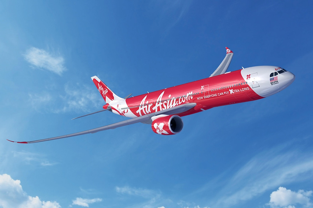 Illusztráció: AirAsia X Airbus A330neo látványterv. (Grafika: Airbus) | © AIRportal.hu