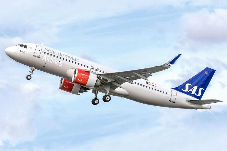 A SAS első A320neo repülőgépe. (Fotó: Airbus) | © AIRportal.hu