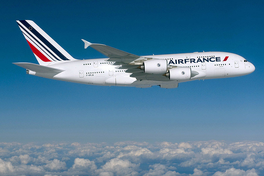 Az Air France A380-asa. (Forrás: Air France) | © AIRportal.hu