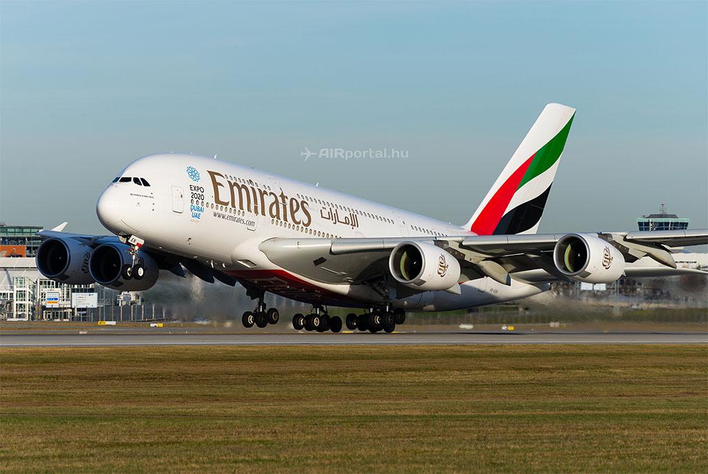 A három amerikai nagy cég célkeresztjében főleg az Emirates áll, mérete és kiterjedt útvonalhálózata miatt (Fotó: AIRportal.hu) | © AIRportal.hu