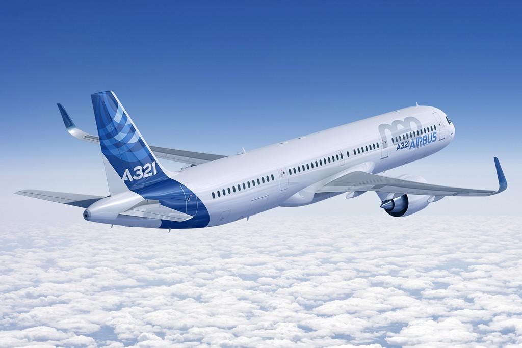 A hosszú távú járatokra szabott A321LR az újrahajtóművezett neo-változatra épül (Forrás: Airbus) | © AIRportal.hu