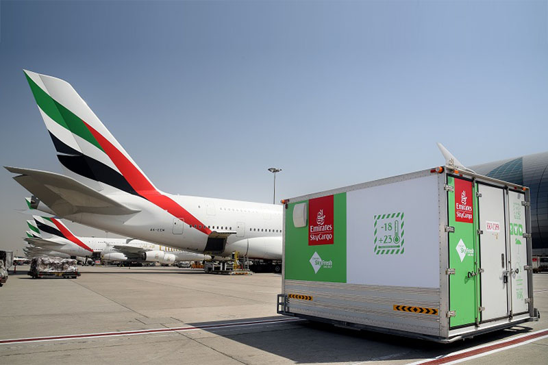 Emirates SkyFresh Ventilated Cool Dolly (Forrás: Emirates) | © AIRportal.hu