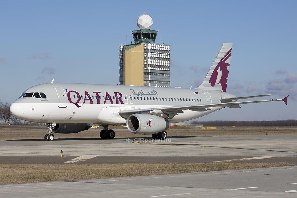 A Qatar Airways május 2-től heti tízről heti tizenkettőre bővíti járatainak számát. (Fotó: AIRportal.hu) | © AIRportal.hu