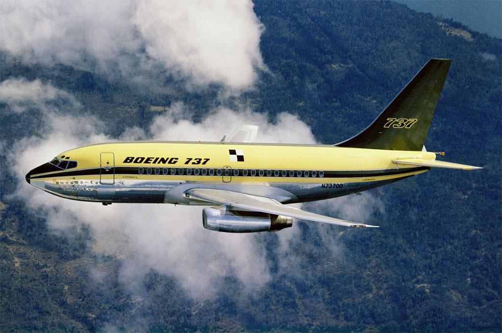 Így nézett ki az ős prototípus. (Forrás: Boeing)   © AIRportal.hu