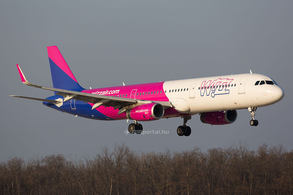 Márciusban két A321-es is érkezett a Wizzhez. (Fotó: AIRportal.hu) | © AIRportal.hu