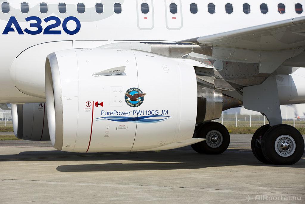 A Pratt közlése szerint sikerült megoldást találni az egyik tömítésre (Fotó: AIRportal.hu) | © AIRportal.hu