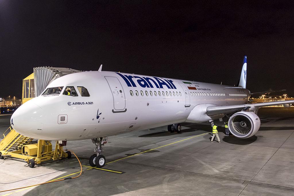 Januárban vette át az Iran Air az első új A321-esét (Fotó: Airbus) | © AIRportal.hu